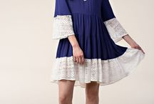 Ring The Bells Lace Trim Babydoll Dress $35.50