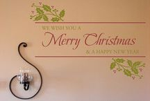 Holiday Decor & Ideas / Holiday decor, inspiration and decals