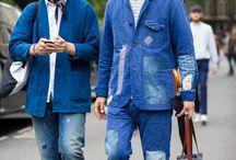 Fashion Indigo Boro