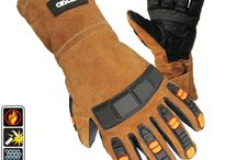 Welding Gloves / These aren't your grandpa's welding gloves.  See the Cestusline difference