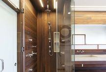 Linear Lighting in Shower Area (Above the Loft Tank)