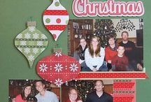 Christmas Scrapbooking Pages