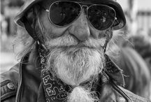 Portraits bikers