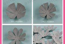 λουλουδια από αυγοθηκες