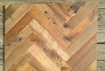 Wood Flooring Patterns / Reclaimed and new hardwood flooring, all milled and finished by Cochran's Lumber and Millwork.