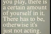 acting!