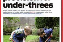 Outdoor Learning / Ideas, tips, toys, and philosophies to encourage outdoor learning for young children.