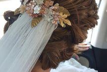 BRIDE // NOVIAS / Tocados hechos a mano para novias. Tocados únicos y exclusivos.