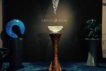 Monaco Yacht Show 2017 / To this year's show we bring truly crystal masterpieces from two Czech glass masters Mr. Jan Frydrych and Mr. Vlastimil Beránek. We also had crystal sculptures and chandeliers on several yachts there, for example MY Nerissa and MY Elinor.