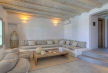 greek living rooms