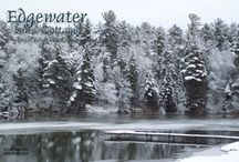 Places to see near and around Eagle River WI / Most photos will be of Edgewater Inn & Cottages as the seasons change.