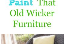 Wicker paint