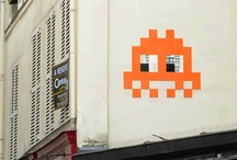 Invader Street Art - Paris