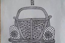 Tegninger / Tegninger diy citater abe fugle coffee planter