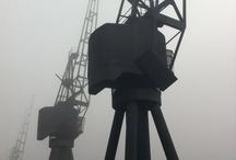 Background Cranes
