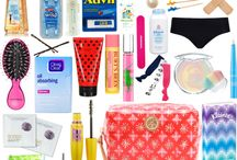 Makeup bag. / Tips and things for a Beauty bag.