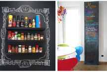 Chalkboards / Ideas to decorate your blackboard. Drawings, quotes, tips and more.