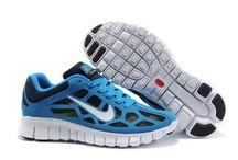 nike free run / Blå Herrer Nike Free Run 3 Breathable Mesh Sko 31004