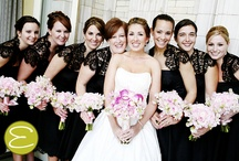 Bridesmaids / Bridesmaids dresses, hair, makeup, fashion, trends