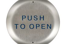 BEA Push Plates / Request to Exit Buttons