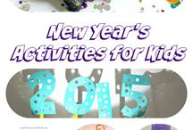 Winter Holidays / Fun ideas for celebrating Christmas and the New Year with kids.