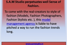 S.A.M Studio is a Model Management Agency that perpetuates Well to Fashion Sense.