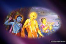 Art Work - Chaitanya Mahaprabhu / Beautifull  wallpapers maid by ISKCON Desire Tree