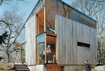 Cedar cladding