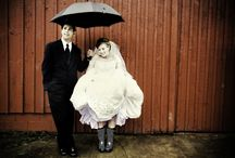 Wet Weddings with Style / Don't let the prospect of rain get you down.  With  little preparation, you can feel totally in control and ready to enjoy your perfect day.