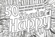 Free Adult Coloring Page Printables / by Jenn Peters | Because I'm Cheap