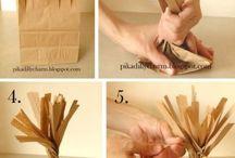 Коричневые бумажные пакеты