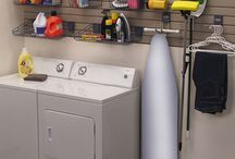 Laundry Rooms with Side by Sides / Laundry ~ UGHHHHHH ~ it probably does NOT top your list of FAVORITES.  But, with so much time spent in the laundry room, why not make the room a showcase of efficiency AND beauty?     / by HouseOrganized