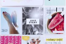 Inspiration :: 9x12 pocket pages