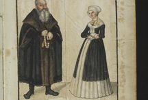 Kostýmy Das Sächsische Stammbuch 1546 II.