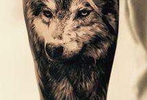 Tetování vlk