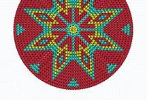 1-Geometric cross stitch