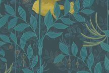 Cole & Son WHIMSICAL Behang / Wallpaper / Interieur / Bekijk hier de WHIMSiCAL behang collectie van Cole & Son. Doe nieuwe interieur ideeën op met dit trendy behang voor de slaapkamer, woonkamer en kinderkamer. Je interieur design is pas compleet met het behang van Cole & Son.