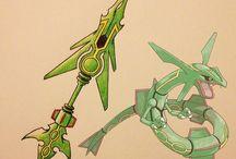 weapon/a/ pokemon DRAGON type
