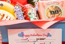 Valentines Day / Personalized valentines day cards, party inspirtation, hearts galore, valentine treat ideas