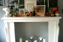 What to do with an old fireplace mantel
