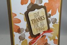 Fall Cards / Hand made cards