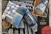 Eclectic Elements Fabric by Tim Holtz