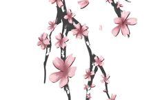 japon çiçekleri