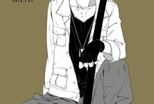 GraphicArt - Illustrations - Manga - Gangsta
