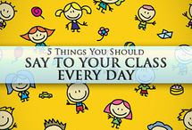 Teacher messages / by Darling Clementine