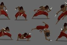 Animations poses