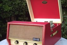 Record players and turntables
