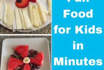 Fun lunch and snack ideas for kids / healthy fun lunch and snack ideas for children to get them enjoying and eating all their lunches