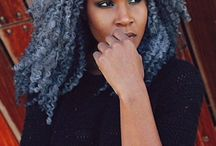 Gorgeous in Grey! / Natural hair in hues of silver and grey!