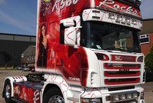 Alcoa Wheels / Alcoa Dura-Brights EVO complementing a R580 Scania and Cheryl Cole